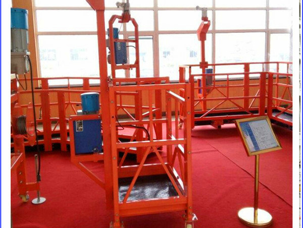 CE approved ZLP800 suspended platformelectric cradlegondolaswing stage