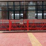 commercial aluminum maintenance cradle window cleaning equipment