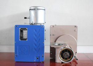 ลากเชือกลวดไฟฟ้า 2.kw LTD80 รอกมอเตอร์สำหรับเชือกระดมแพลตฟอร์ม ZLP800