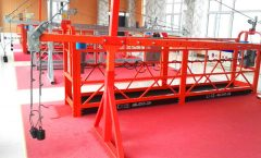construction buidling gondola suspended working platform , 630kg suspended access cradles