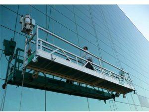 ZLP630 aluminium alloy/steel electric lift suspend platform suspension work platform