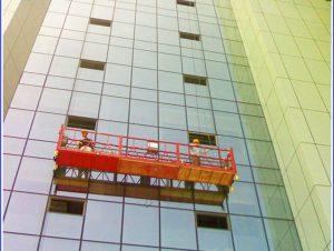 venta de fábrica ventana vidrio limpieza plataforma grúa cuna
