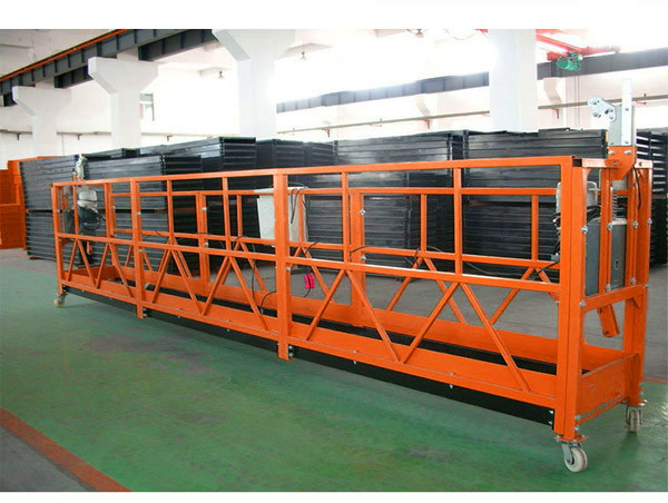 Hot Galvanized Rope Suspended Platform, High Rise Building Suspended Gondola