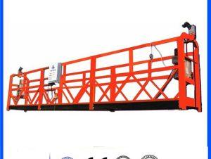 низкая цена с порошковым покрытием zlp 630/800/1000 подвесная платформа