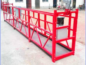 mobile window cleaning diluncurake platform aerial lift work scaffolding