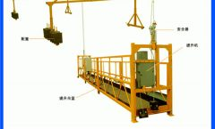 New design mini single person suspended working platform