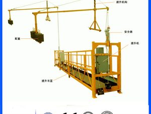 desain anyar mini single person suspended working platform