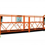 electric hoist wire rope gondola zlp500 spray paint suspended platform