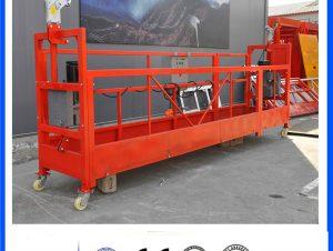 zlp 630 800 1000 zlp630 zlp800 zlp1000 aluminum galvanized steel scaffold suspended platform for building window glass cleaning