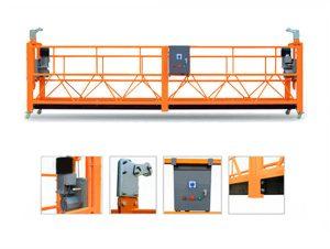 equipo de limpieza de vidrio para ventana de construcción de gran altura para plataforma de cable suspendido