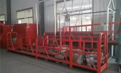 ZLP1000 Temporarily Installed Suspended Platform Cradle For Building Decoration