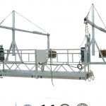 ZLP630 steel suspended access platform para sa paglilinis ng window