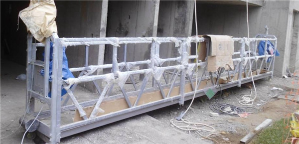 ZLP800 spraying electric suspended platform for building facade work