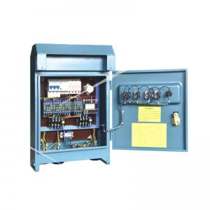 electric control box for suspended platform