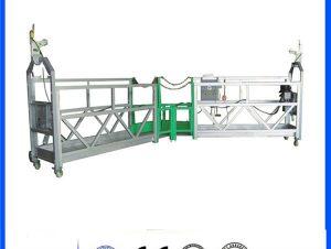 La corde de levage de grue électrique de haute élévation de 1.8kw zlp800 a suspendu la plate-forme pour la construction