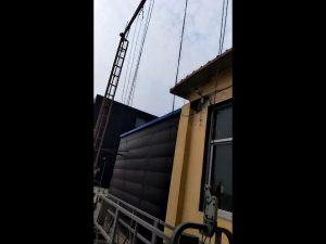 cyfres zlp golau cradle gondola platfform